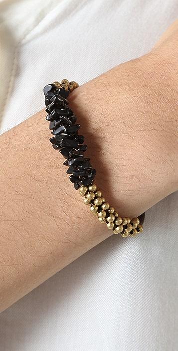 JADEtribe Cluster Bead Bracelet