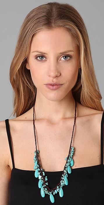 JADEtribe Turquoise Long Beaded Necklace
