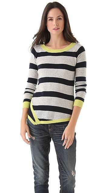 Jamison Maxwell Asymmetrical Slit Sweater
