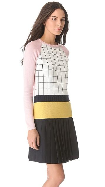 J.W. Anderson Patchwork Raglan Sweater