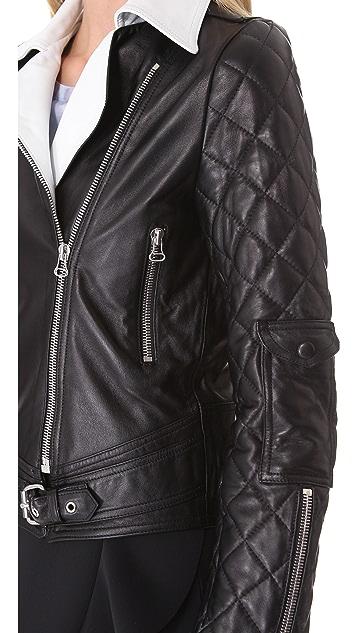 J.W. Anderson Leather Biker Jacket