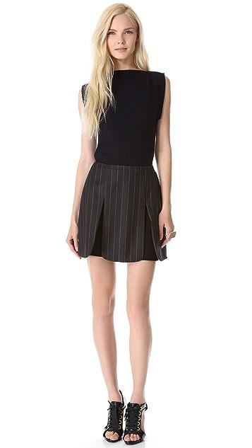J.W. Anderson Pinstripe Panel Skirt