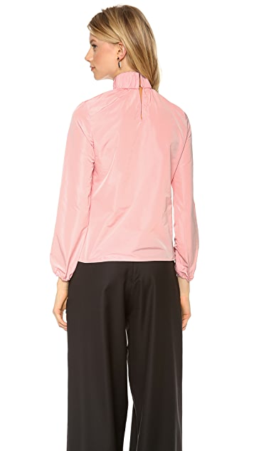 J.W. Anderson Ruched Neck Top