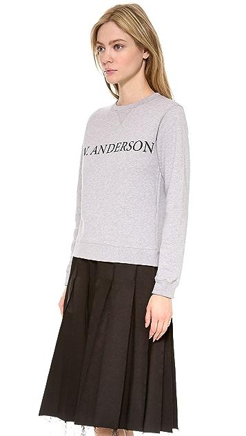 J.W. Anderson Long Sleeve Sweatshirt