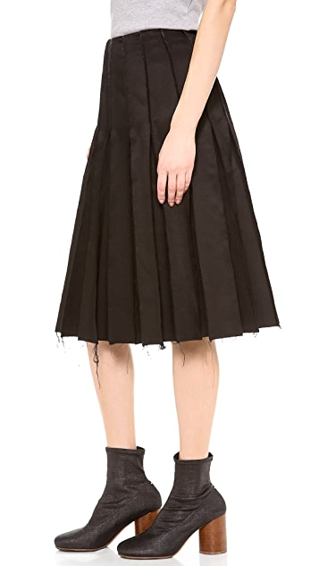 J.W. Anderson Reverse Seam Skirt