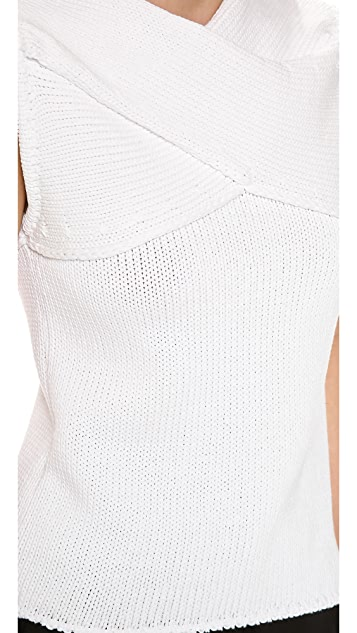 J.W. Anderson Cross Wrap Tank
