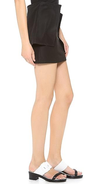 J.W. Anderson Brick Skirt