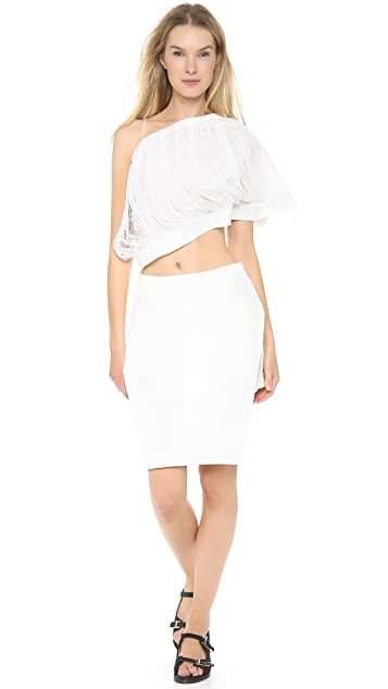 J.W. Anderson Plain Butterfly Skirt