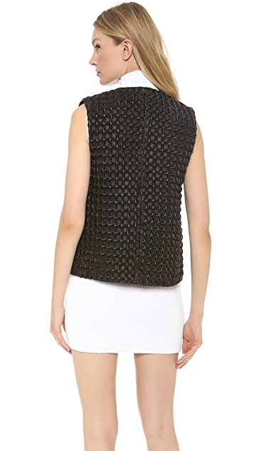 J.W. Anderson Star Leather Gilet