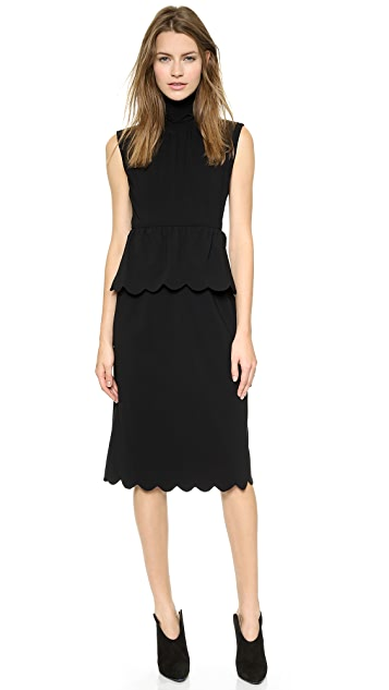J.W. Anderson Scallop Dress