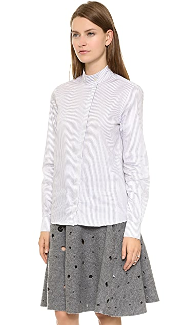 J.W. Anderson Asymmetric Placket Shirt