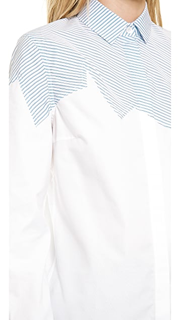 J.W. Anderson Jagged Yoke Shirt