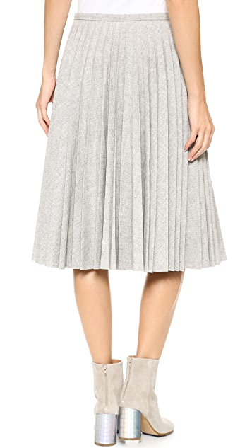 J.W. Anderson Fan Pleat Skirt