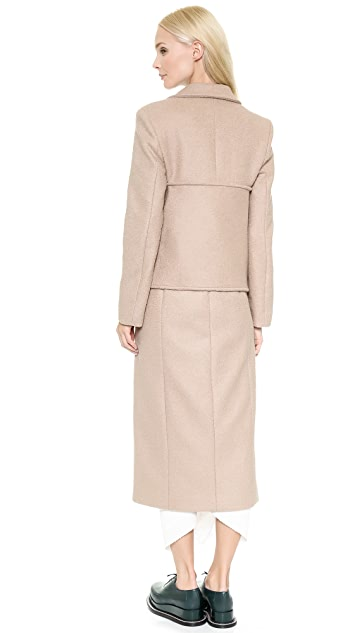 J.W. Anderson Banded Coat