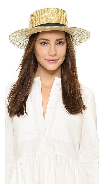 7a0cd6b02ab Janessa Leone Klint Hat ...