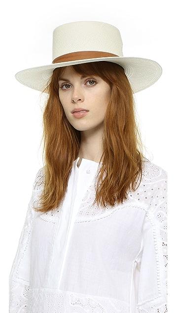 Janessa Leone Zinnia Bolero Hat  3da9e93413e6