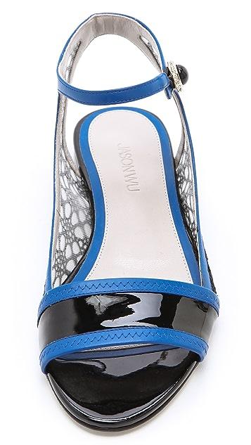 Jason Wu Jane Patent Sandals