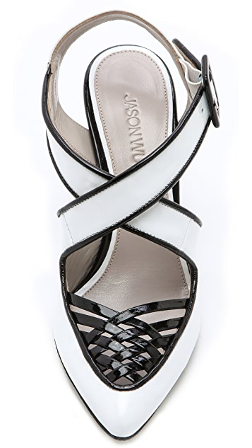 Jason Wu Peggy Open Weave Pumps