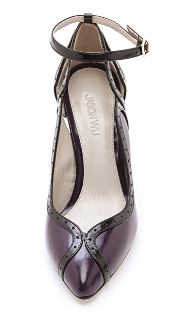 Jason Wu Karen Ankle Strap Pumps