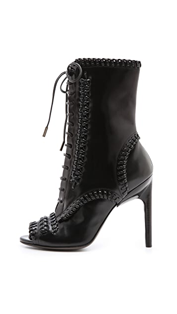 Jason Wu Harlow Peep Toe Booties