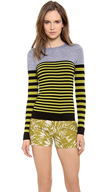 Jason Wu Long Sleeve Wool Pullover