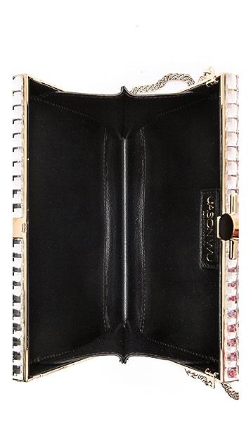 Jason Wu Karlie Leather Box Clutch