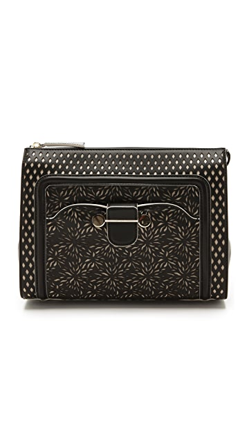 Jason Wu Daphne Laser Cut Clutch