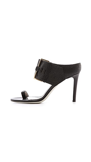 Jason Wu Buckled 2 Strap Sandals