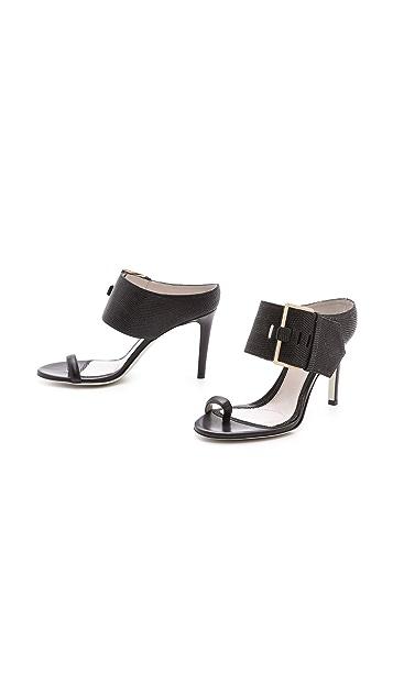 Jason Wu Buckled 2 Strap Sandals