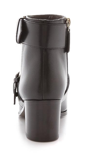 Jason Wu Leather Buckle Booties