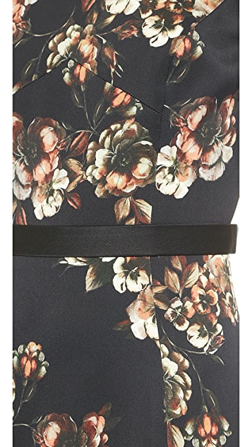 Jason Wu Crepe Floral Dress