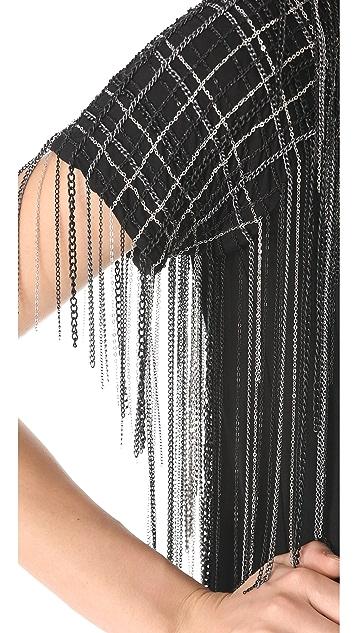 Jay Ahr Chain Short Sleeve Top
