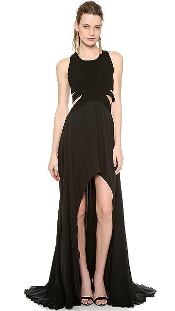 Jay Ahr Sleeveless Gown