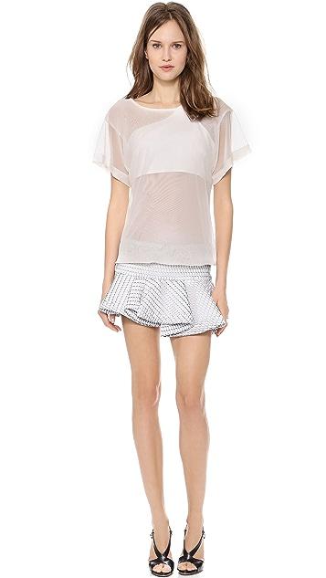 Jay Ahr Short Sleeve Dress