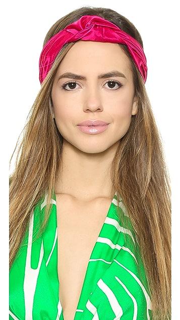 Jennifer Behr Center Knot Turban Headband
