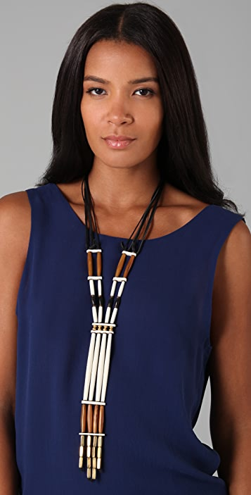 Jenny Bird Uptown Native Lariat Necklace