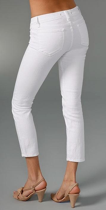 J Brand Cropped Stretch Jeans
