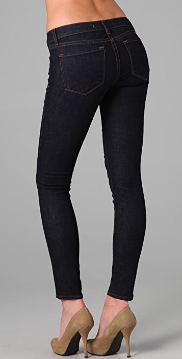 J Brand 910 Low Rise Ankle Skinny Jeans