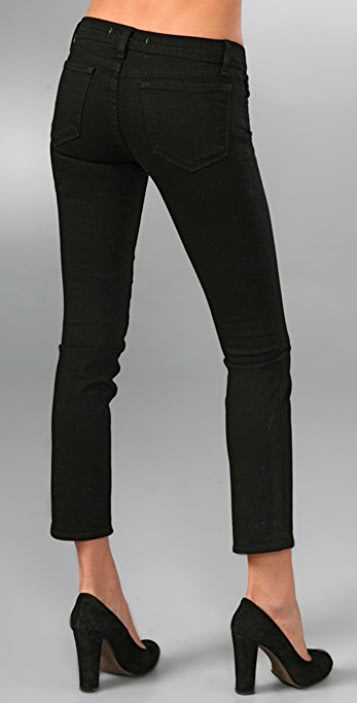 J Brand 7/8th Cropped Pencil Leg Jeans