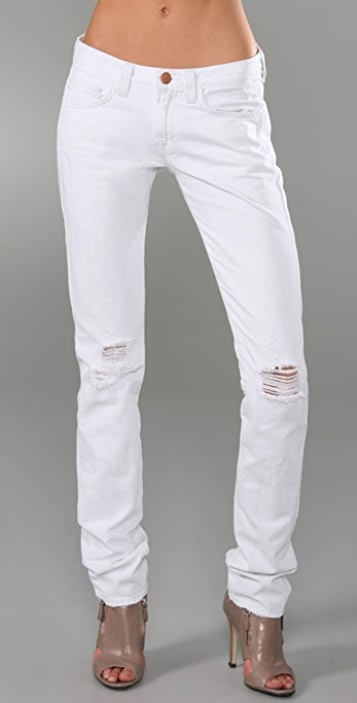 J Brand Ginza Slouchy Cigarette Jeans