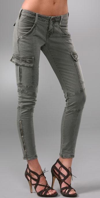 J Brand Olive Suede Shorts