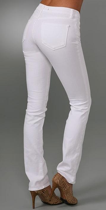 J Brand Blue Label Curvy Fit Bombshell Cigarette Jeans