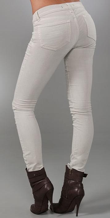 J Brand Corduroy Pencil Leg Pants