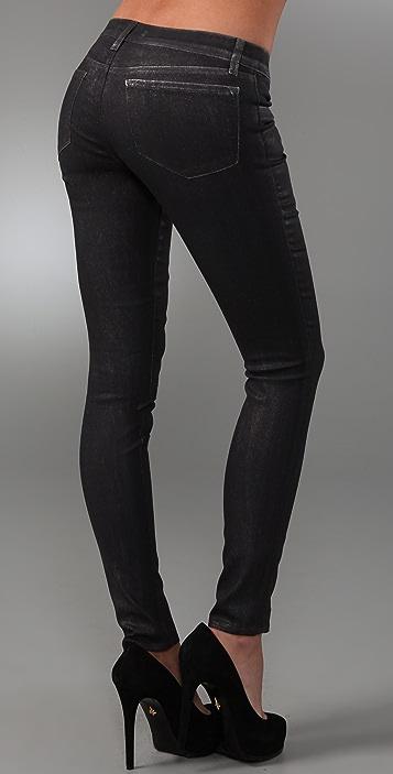 J Brand Shiny Legging Jeans