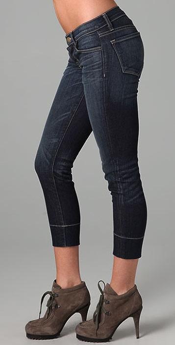 J Brand Murphy Cropped Skinny Jeans