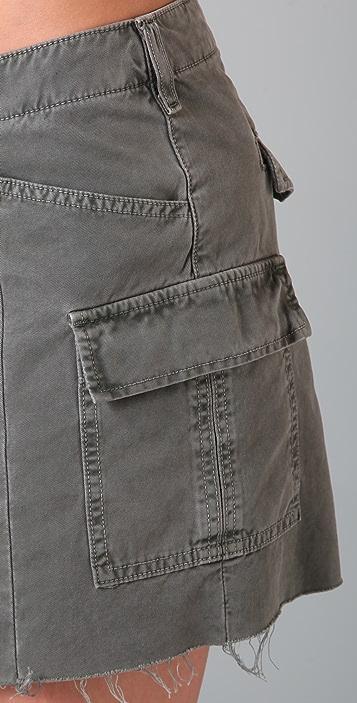 J Brand Cargo Miniskirt