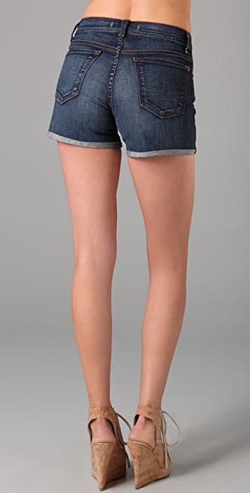 J Brand Gwen High Rise Cuffed Shorts