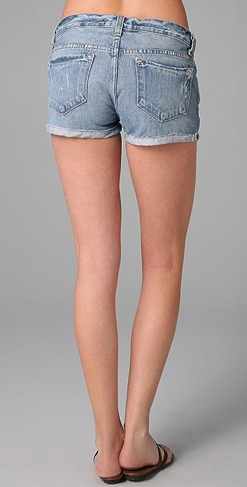 J Brand Cuffed Denim Shorts