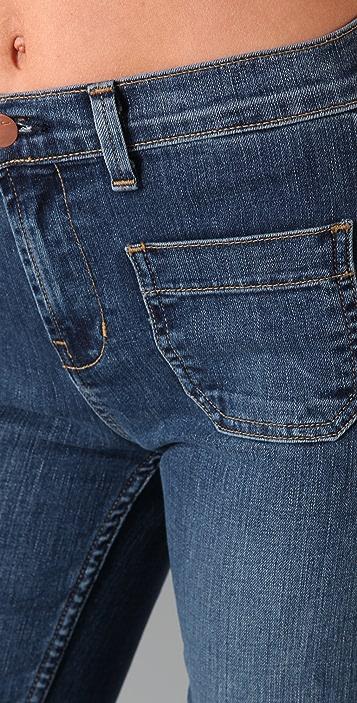 J Brand Bette Wide Leg Trouser Jeans
