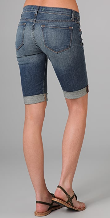 J Brand Rolled Bermuda Shorts
